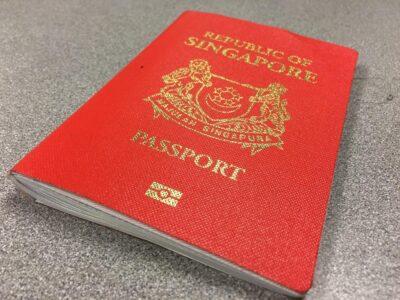 Паспорт Сингапура занимает второе место в мировом рейтинге