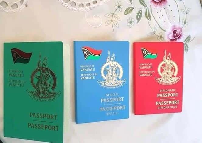 Вануату запускает 10-летние паспорта