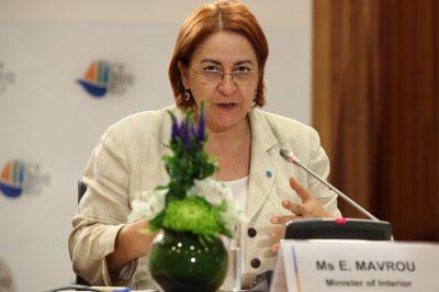 Член Парламента Акел Элени Мавру